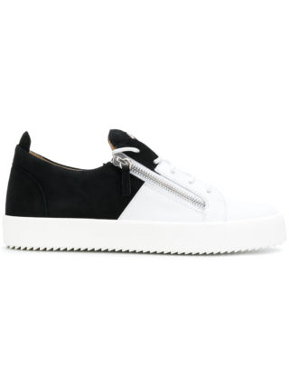 Giuseppe Zanotti Design bicolour May London sneakers - White