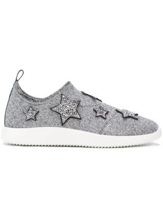 Giuseppe Zanotti Design Alena Star sneakers (zilver)