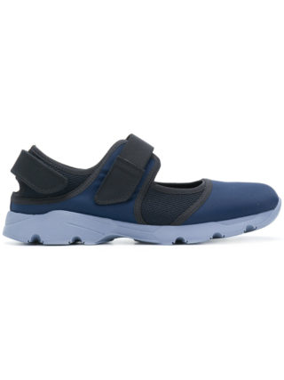 Marni mesh touch strap sneakers (blauw)