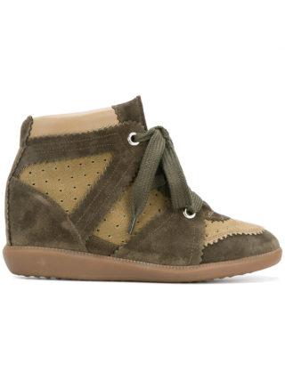 Isabel Marant wedge sneakers (groen)