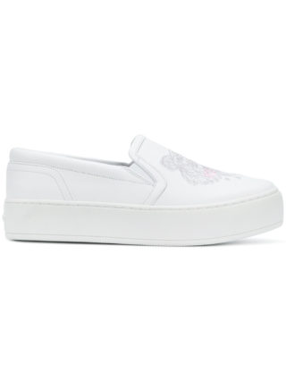 Kenzo K-PY Tiger sneakers (wit)