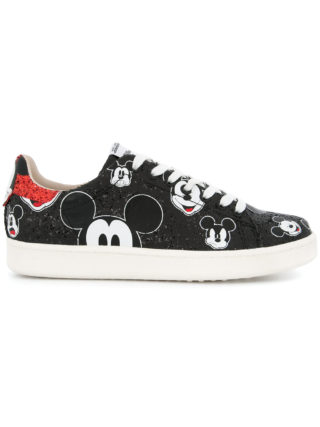 Moa Master Of Arts lace up Mickey sneakers (zwart)
