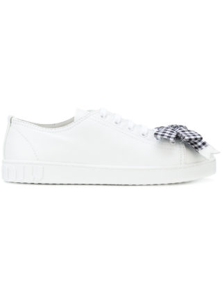 Miu Miu bow sneakers (wit)