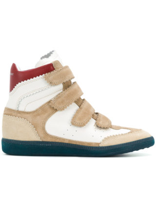 Isabel Marant Bilsy mid-top sneakers (wit)