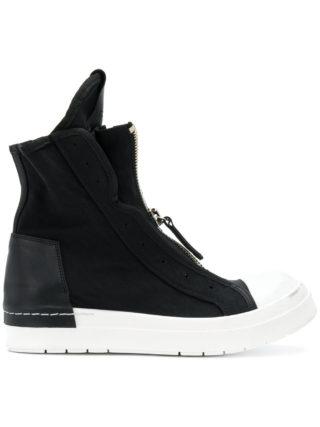 Cinzia Araia zipped hi-top sneakers (zwart)