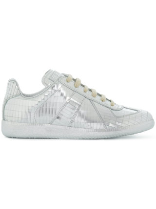 Maison Margiela metallic Replica sneakers (grijs)