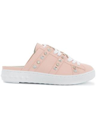 Ash studded mule sneakers (roze/paars)