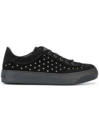 Jimmy Choo Ace star studded sneakers (zwart)