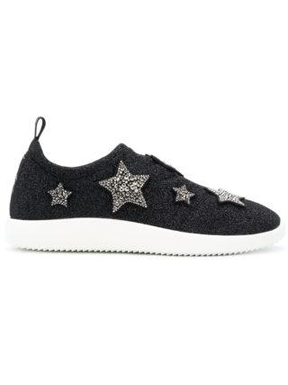 Giuseppe Zanotti Design Alena Star sneakers (zwart)