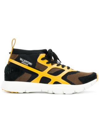 Valentino Valentino Garavani Sound High sneakers - Yellow & Orange