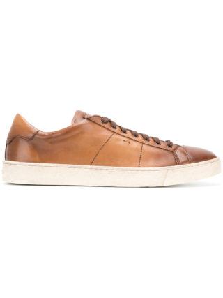 Santoni Runner Gloria Low sneakers (bruin)
