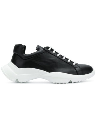 Cinzia Araia sculpted sole sneakers (zwart)