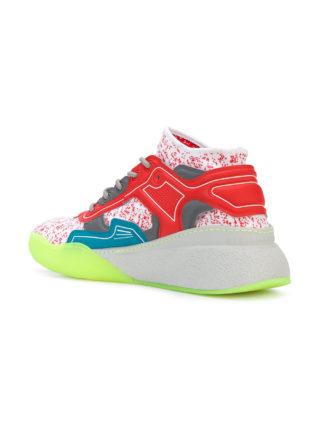 Stella McCartney Eclypse lace-up sneakers - Multicolour