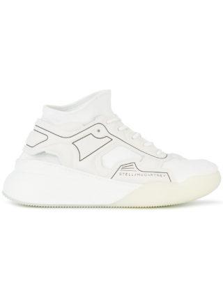 Stella McCartney Eclypse lace-up sneakers - White