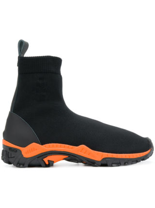 Marcelo Burlon County Of Milan Flyknit boots (zwart)