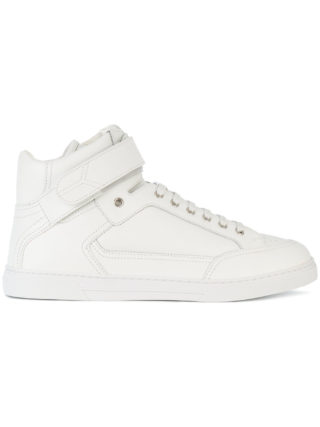 Saint Laurent Max Scratch mid-top sneakers (wit)