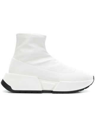 Mm6 Maison Margiela ankle-length sneakers (wit)