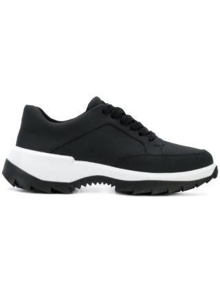 Camper contrast sole sneakers (zwart)