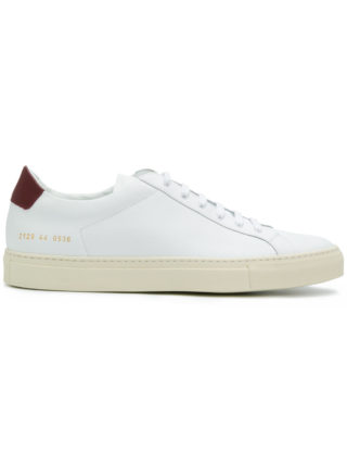 Common Projects Achilles retro low top sneakers - White
