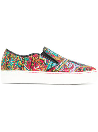 Etro paisley-print sneakers (multicolor)