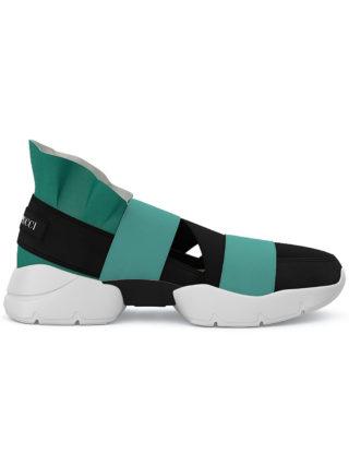 Emilio Pucci City Up custom sneakers (zwart)
