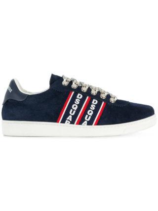Dsquared2 Barney logo stripe sneakers - Blue