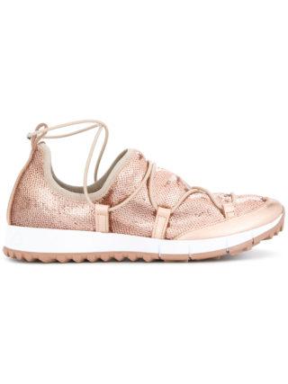 Jimmy Choo Andrea sneakers (zilver)