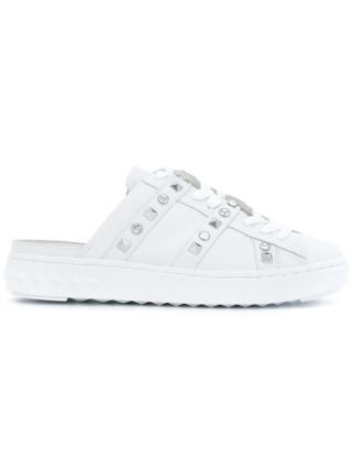 Ash studded mule sneakers - White