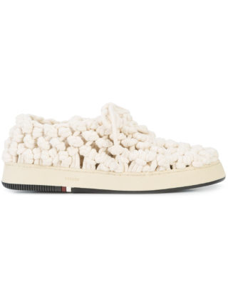 Osklen Osklen x Tarsila Soho macrame sneakers (wit)