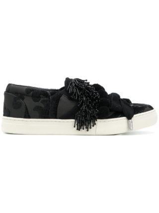 Marc Jacobs Mercer pom-pom sneakers (zwart)