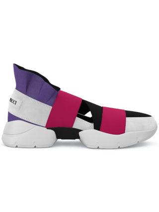 Emilio Pucci City Up custom sneakers (multicolor)