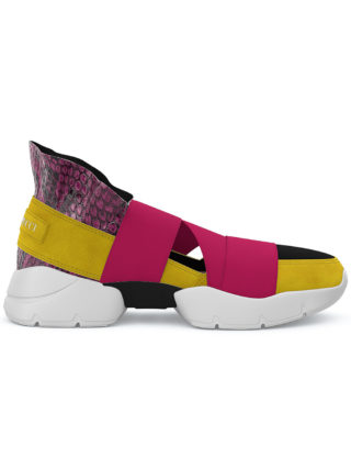 Emilio Pucci City Up custom sneakers (roze/paars)