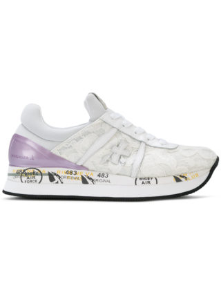 White Premiata Liz sneakers (wit)