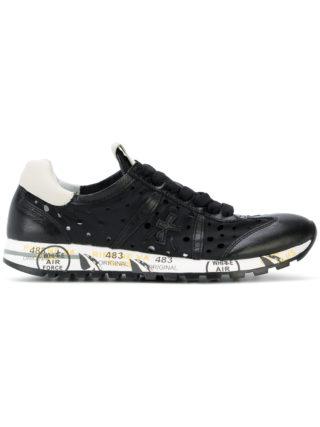 White Premiata Lucy sneakers (zwart)