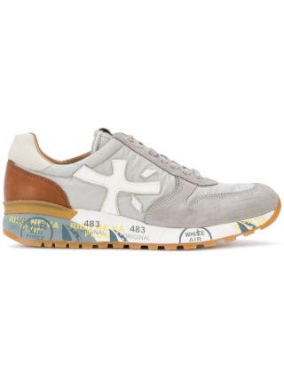 White Premiata Mick sneakers (grijs)