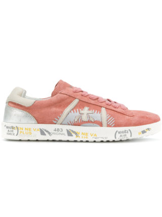 White Premiata Andy sneakers (roze/paars)