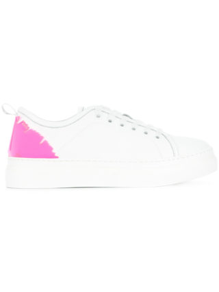 MSGM lace-up sneakers (wit)
