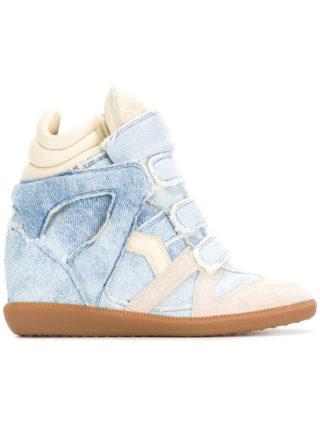 Isabel Marant denim Bekett sneakers - Blue