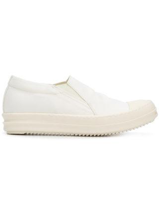 Rick Owens DRKSHDW slip-on sneakers (wit)