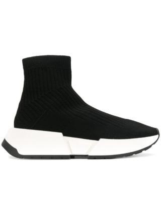 Mm6 Maison Margiela ankle-length sock sneakers (zwart)