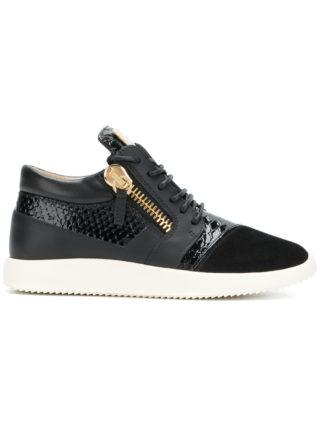 Giuseppe Zanotti Design Runner panelled sneakers - Black
