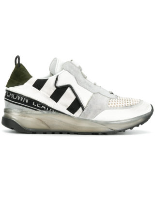 Leather Crown Maero sneakers (wit)