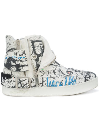 Haculla insanity art sneakers (wit)