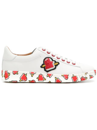 Bally printed sneakers (wit)