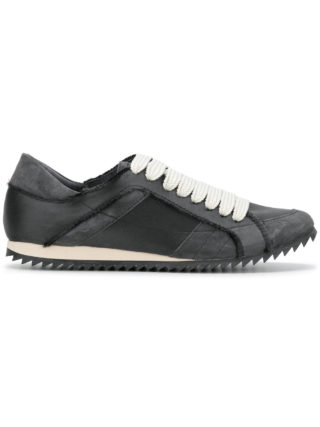 Pedro Garcia raw edge low top sneakers (grijs)