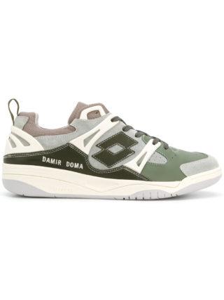Damir Doma panelled sneakers (groen)