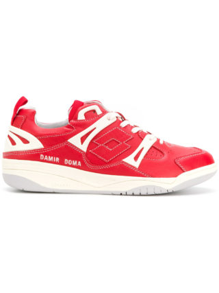 Damir Doma panelled sneakers (rood)