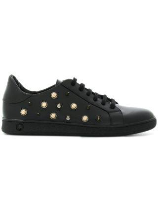 Versus studded lace-up sneakers (zwart)