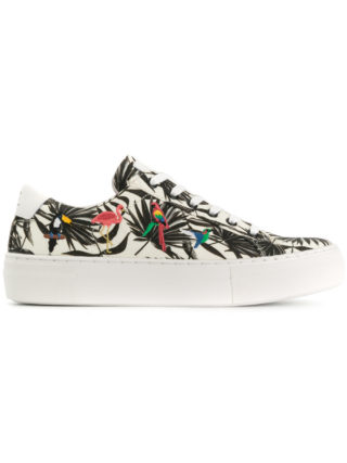 Moa Master Of Arts Tropical flatform sneakers (Overige kleuren)