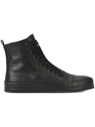 Ann Demeulemeester hi top sneakers (zwart)
